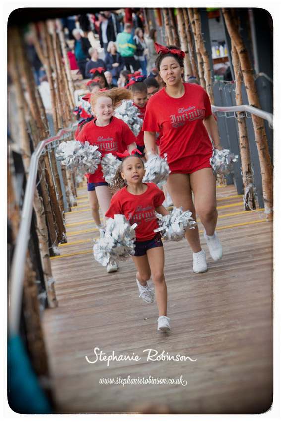 London Infinity Elite (Calthorpe Allstars) Cheerleaders