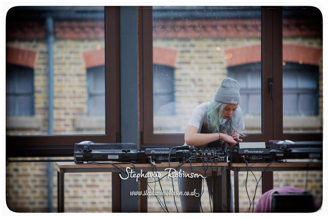 DJ at Camden Foundry