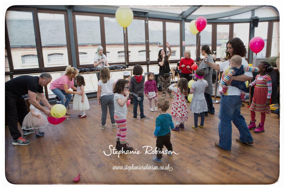 Children dancing at #moveitcamden