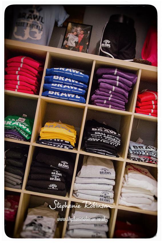 Camden Brawl Clothing Shop