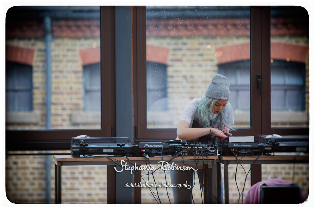 DJ at Camden Foundry